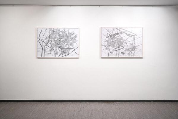 5. Biennale der Zeichnung - Werke von Renata Jaworska