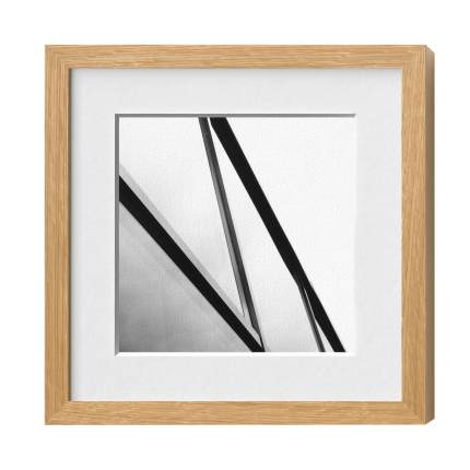 Classic-Magnetrahmen Holz 20, Eiche natur, Glas 1, 210 x 297