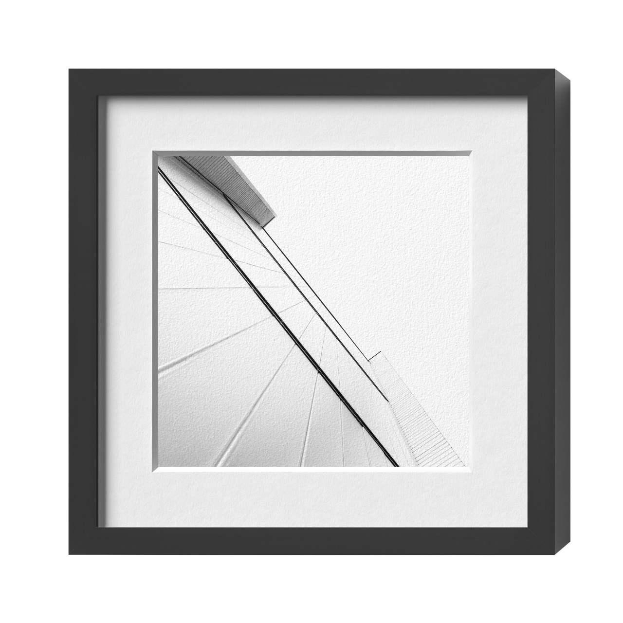 Bilderrahmen für Kunstwerke   HALBE Protect-Magnetrahmen