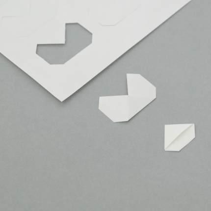 Fotoecke aus Papier, 1 Bogen à 36 Stück, angestanzt/zur Selbstherstellung