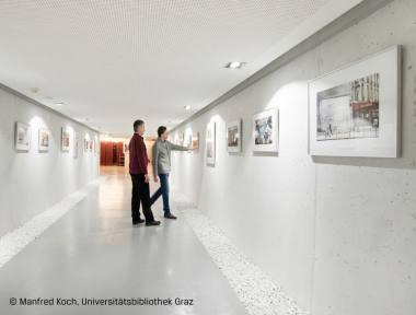 Bilderrahmen in öffentlichen Räumen