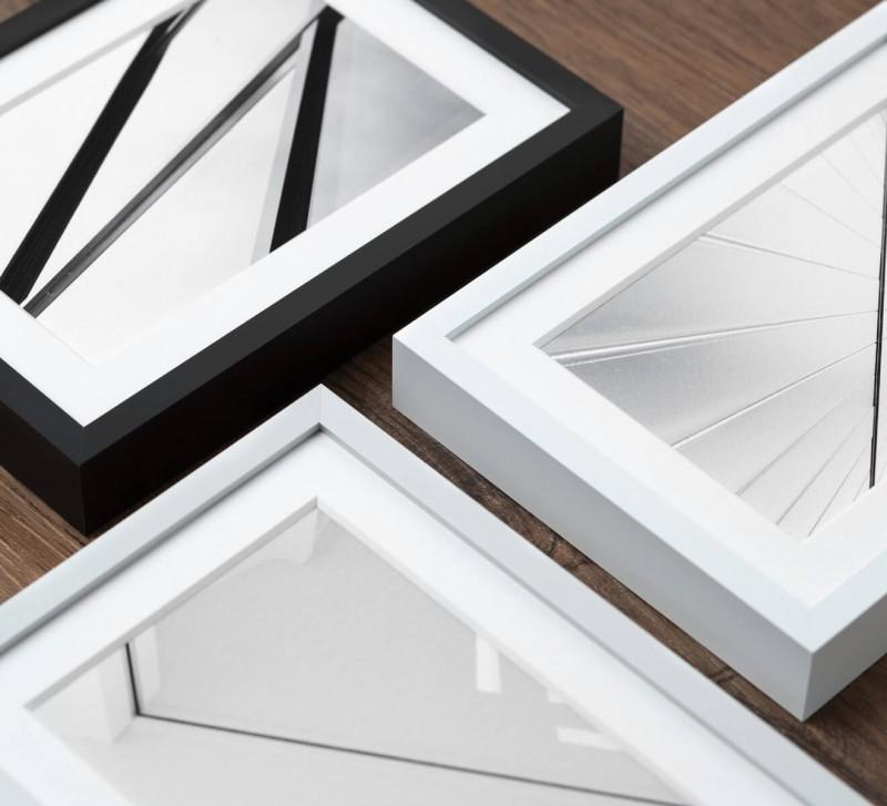 Fotorahmen Aluminium in 3 Farben