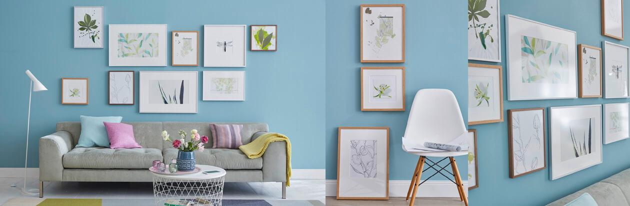 Bilderrahmen für Zuhause - Bilder kinderleicht einrahmen