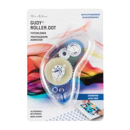Photo glue Gudy Roller.Dot, 10 m x 8.4 mm, repositionable
