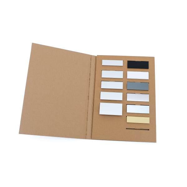 Samples aluminium profiles