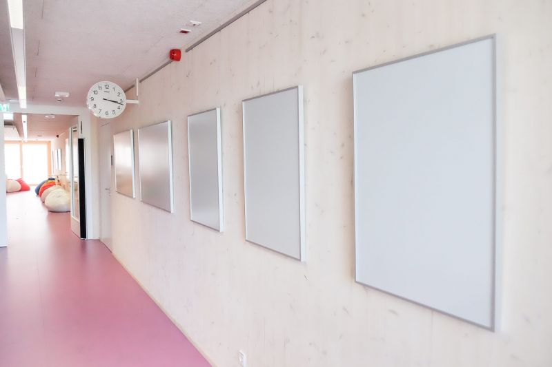 Nachher: Wand mit Bilderrahmen