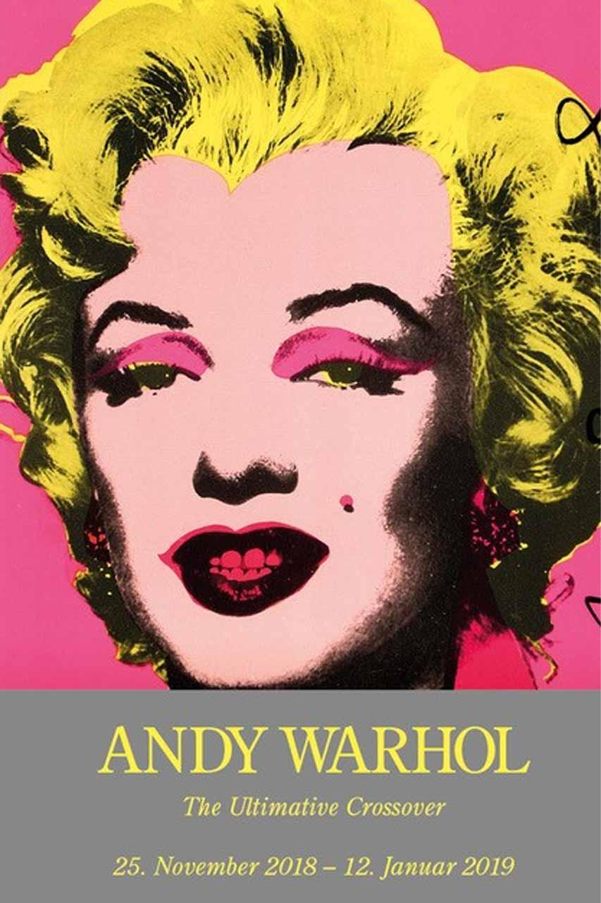 Burkhard Eikelmann Galerie Prasentiert Andy Warhol In Halbe Rahmen