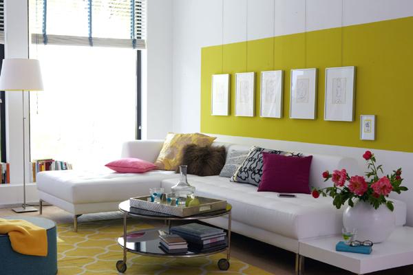 Galerieschiene-Wohnzimmer