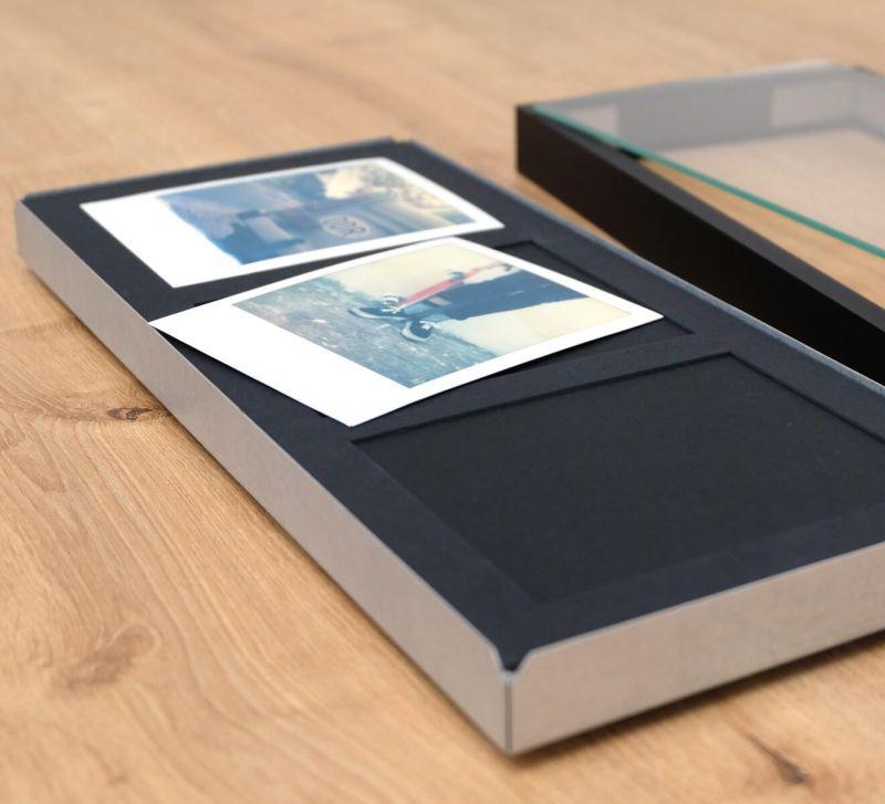 Collage-Rahmen für 3 Sofortbilder, Polaroid Bilderrahmen