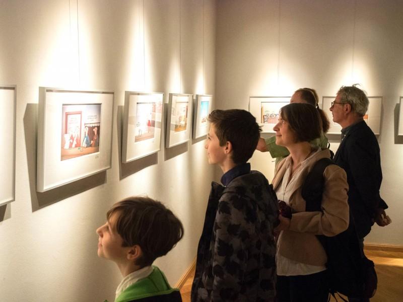 Galerieschienen für Ausstellungen oder Galerien