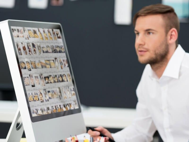 Bildbearbeitung, Scans und Digitalproof