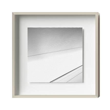 Distance-Magnetrahmen, Alu 8, Palladium matt/glänzend