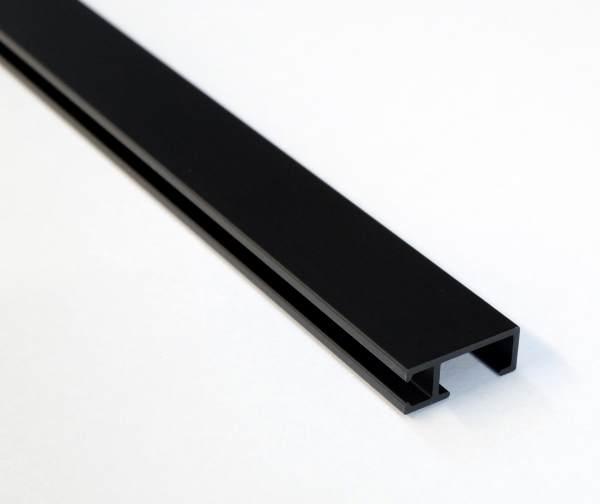 Galerieschiene Schwarz 3000 mm