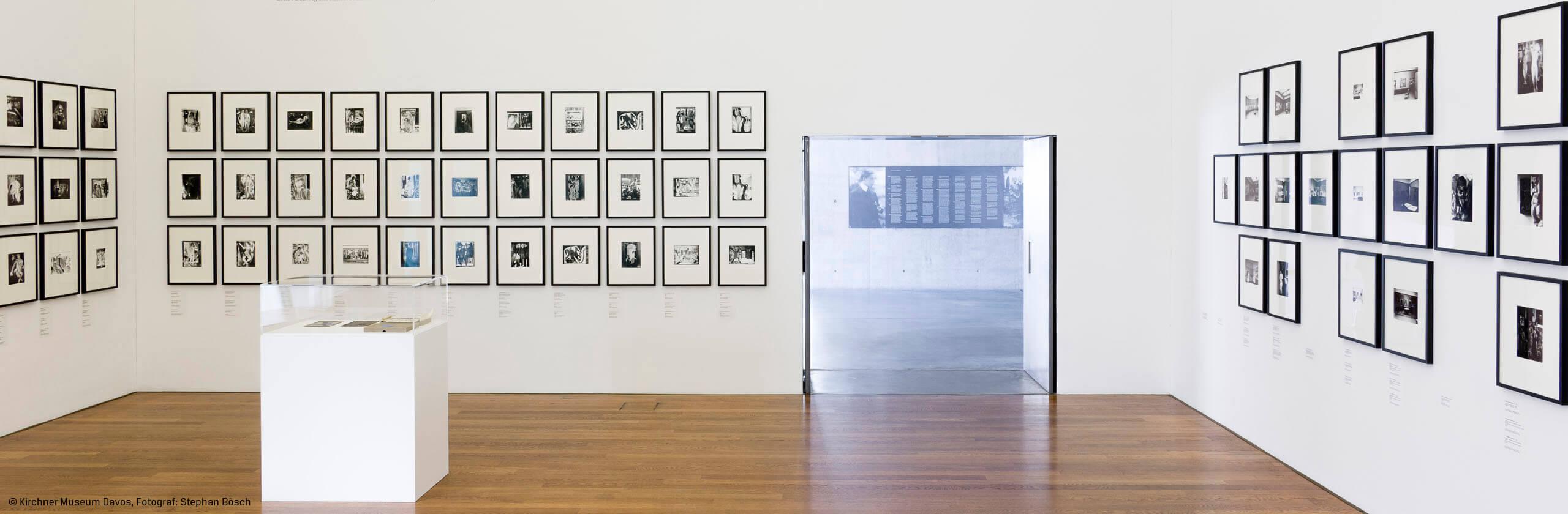 Bilderrahmen im Museum