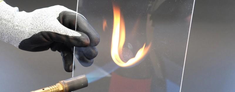 Brandschutz bei Bilderglas