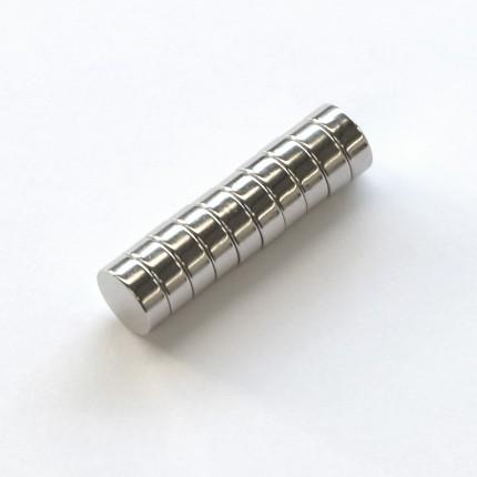 Neodym-Magnete für Trikotrahmen (10er-Set)