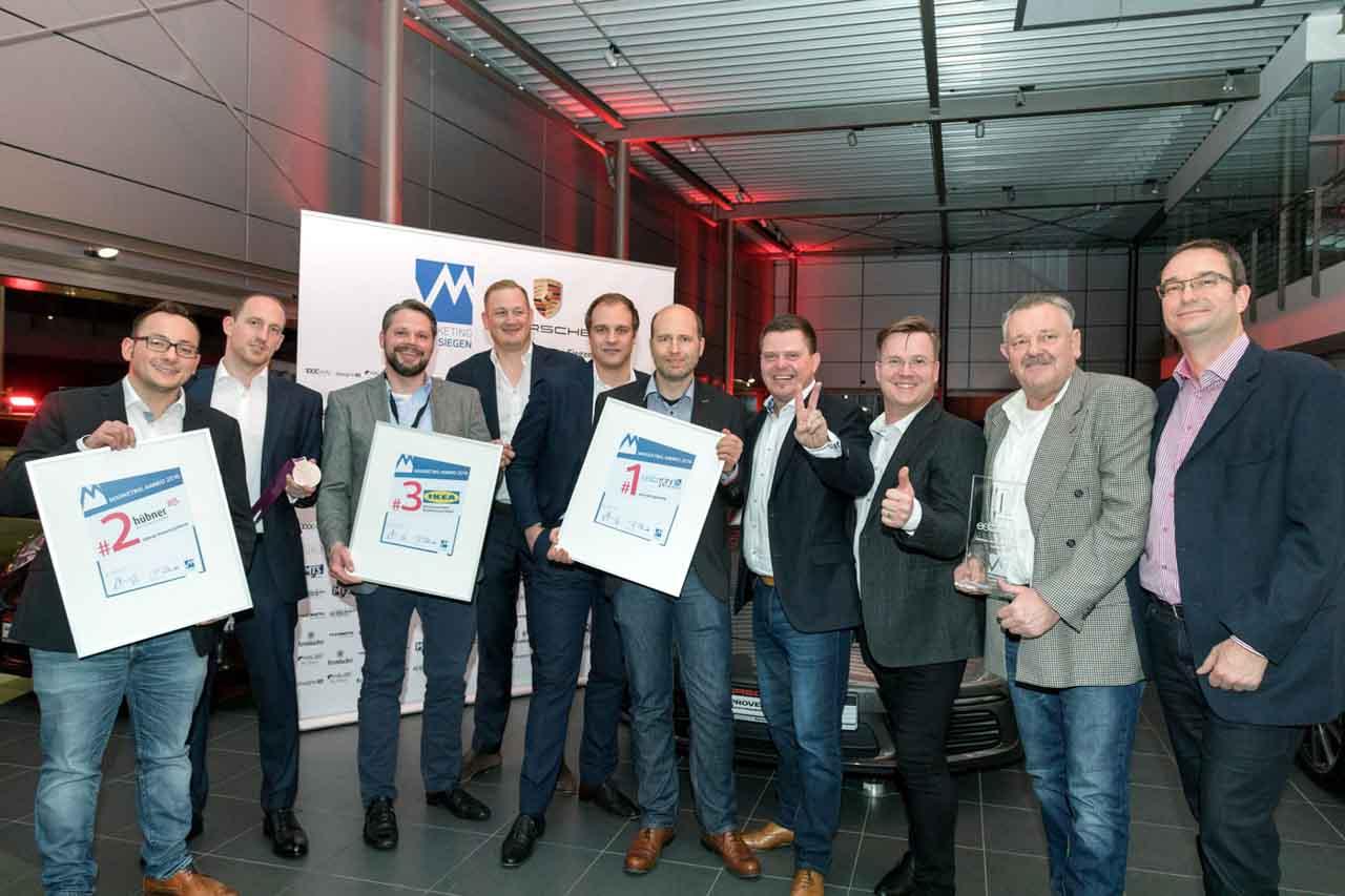 Preisverleihung Marketing Award Siegen | HALBE-Rahmen GmbH