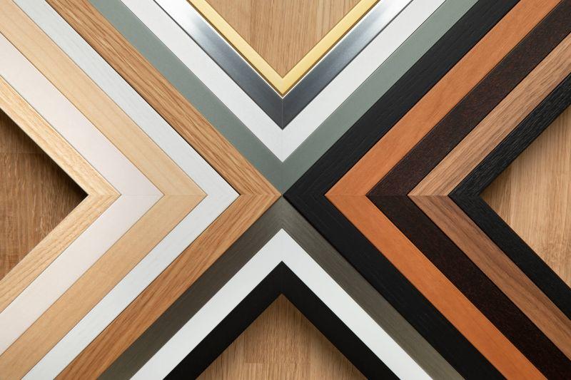 Farben und Profile von HALBE Rahmen