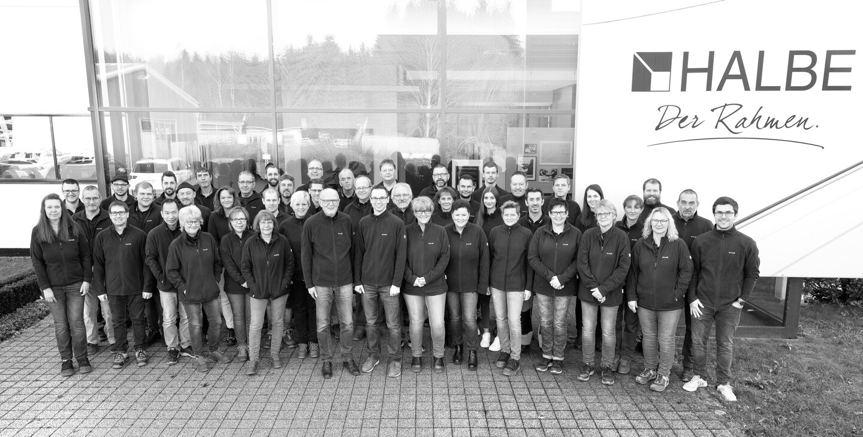 Gruppenbild HALBE-Team