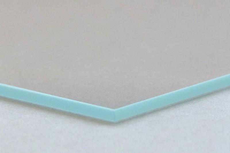 Glaskante Mineralglas Weißglas