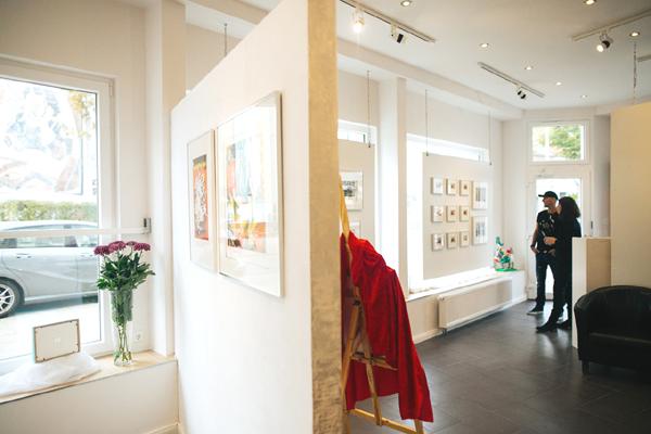 Eröffnung Kunstgalerie ArtHB