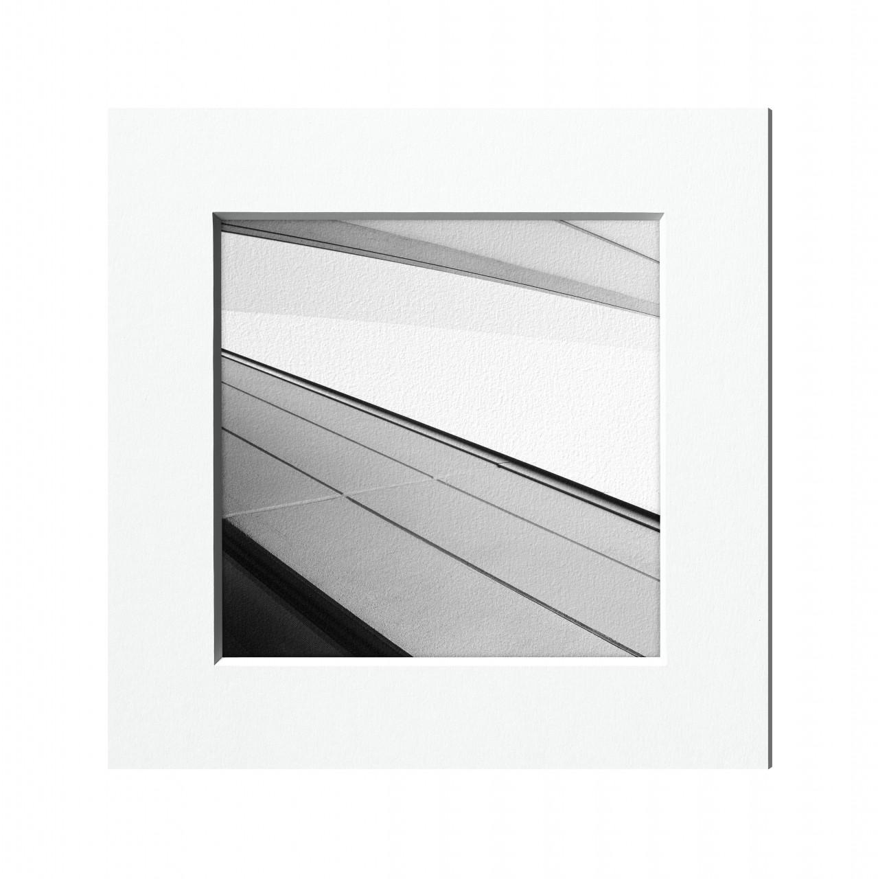 Passepartout für Bilderrahmen kaufen   HALBE-Rahmen
