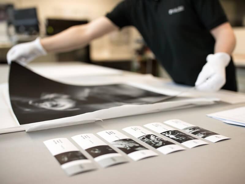 Einrahmungsservice, fachgerechte Bildmontagen und Einrahmungen