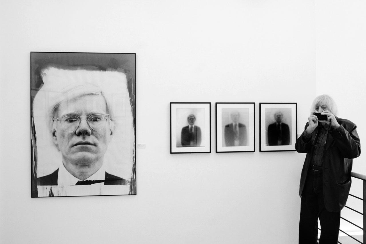 WALTER SCHELS Fotografie Ausstellung in HALBE Bilderrahmen