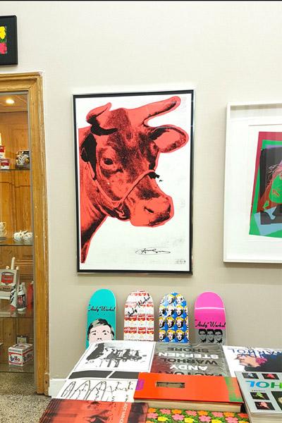 Andy Warhol gerahmt in HALBE