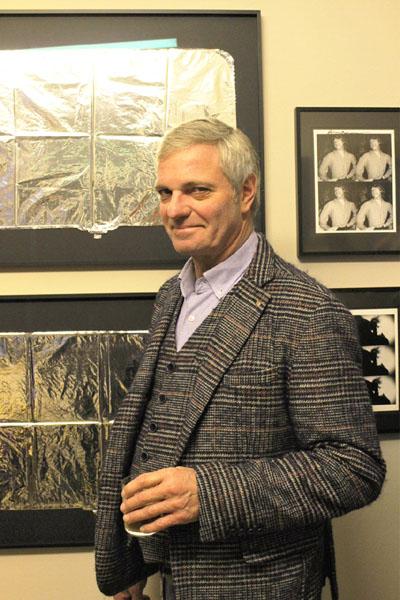 Burkhard Eikelmann präsentiert seine Ausstellung