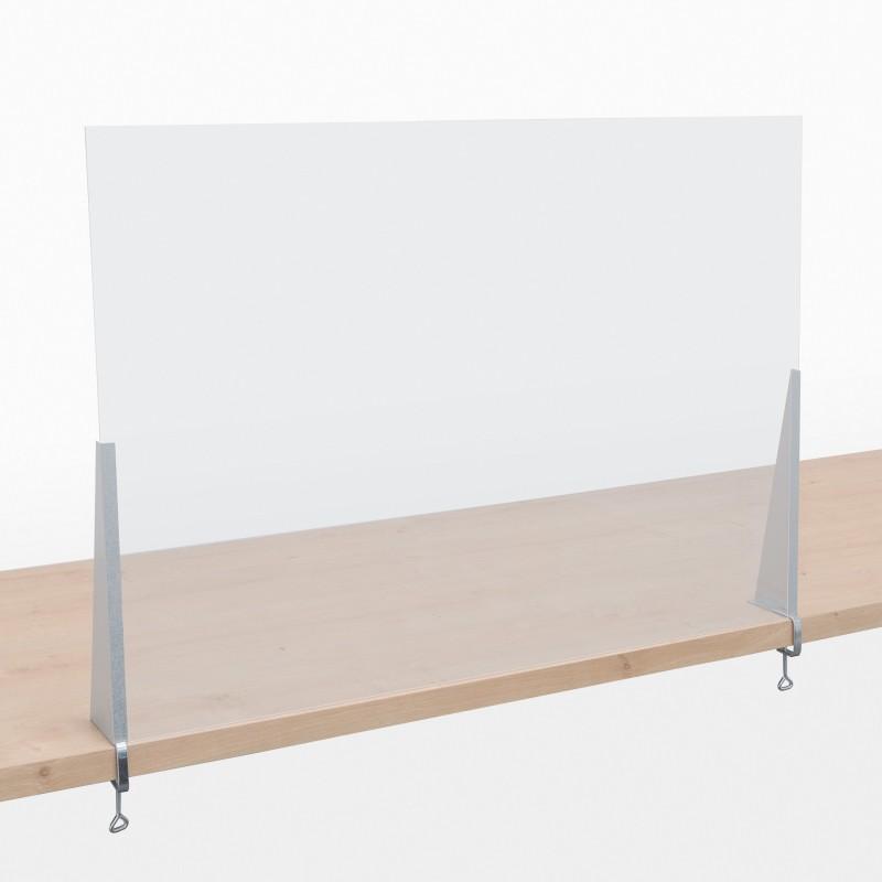 Spuck-Schutz - Tisch - geklemmt