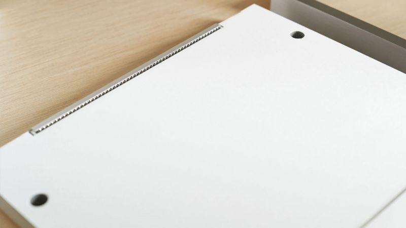 Grundelement des Display-Magnetrahmen mit Posterfix und Bildsicherung BS3