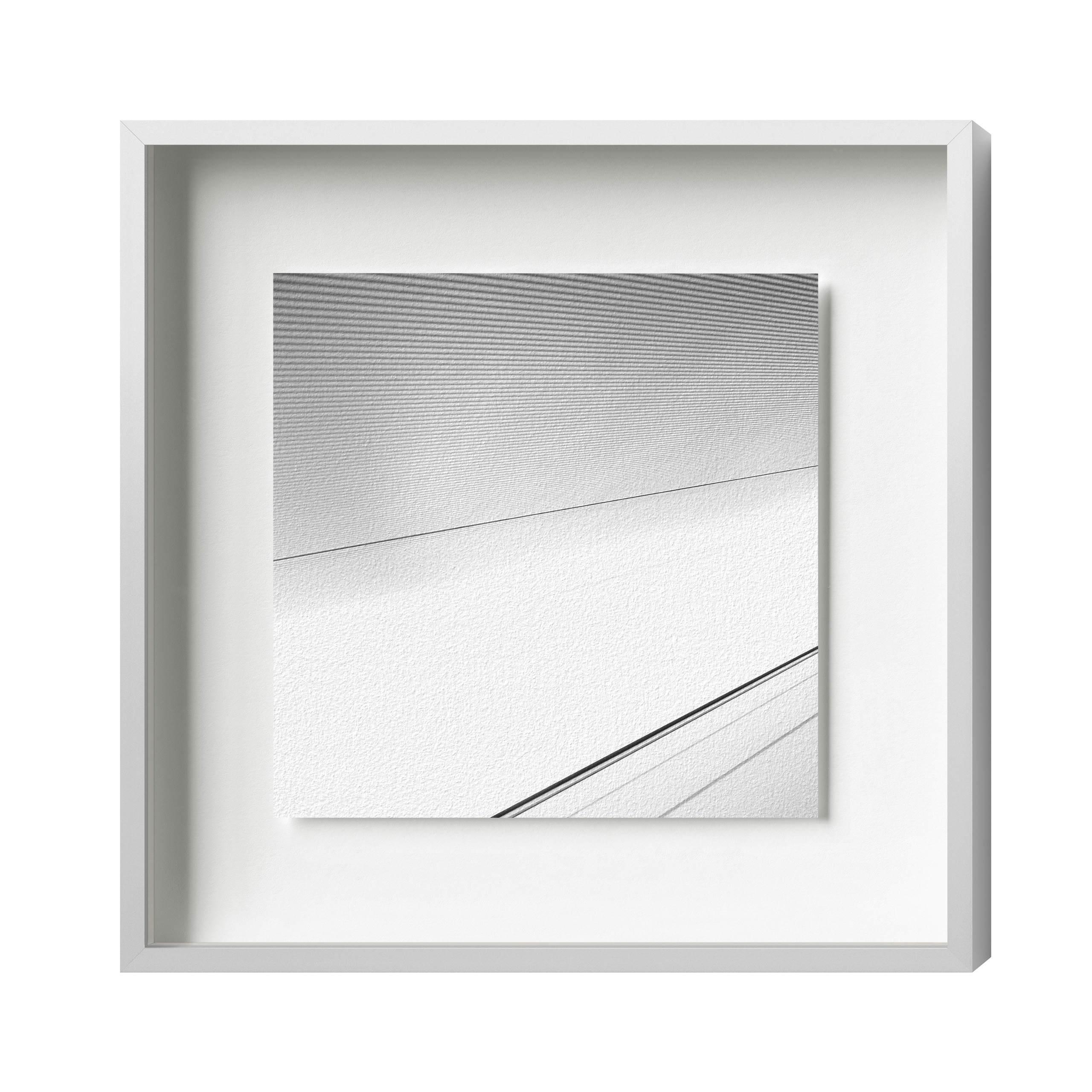 Distance 10 Alu 8, Silber matt, Normalglas glä., 210 x 210 | HALBE ...