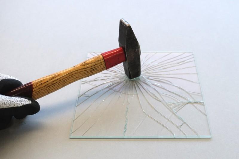 Glasbruch, Bruchfestigkeit von Bilderglas