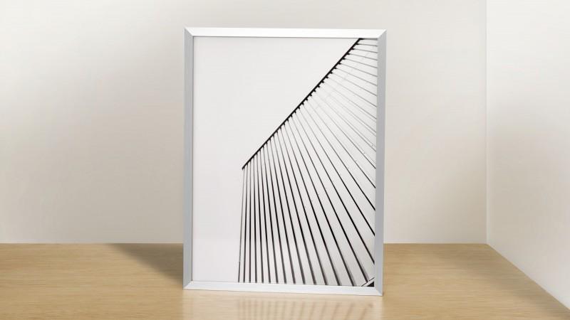 Display-Magnetrahmen - für zeitsparendes Wechseln von Werbeposter