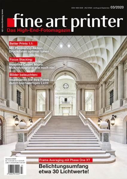 fine art printer Magazin Ausgabe 03/20 Leseprobe
