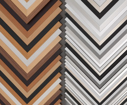 Picture frame profiles and colors