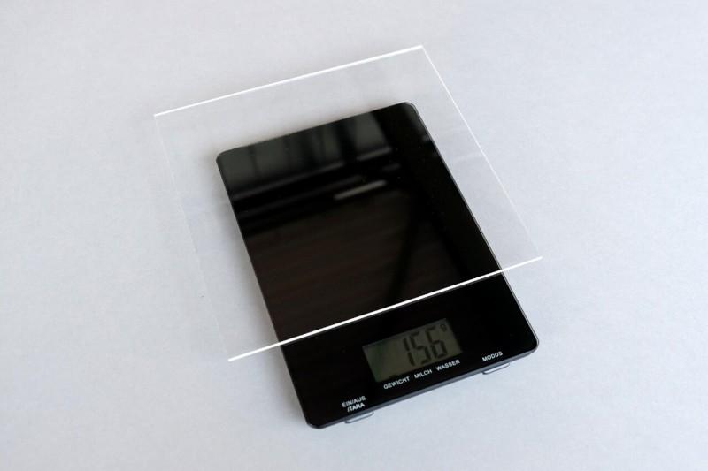 PLEXIGLAS Gewicht