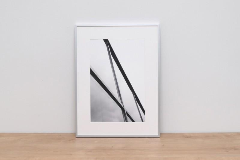 Picture frame material aluminium