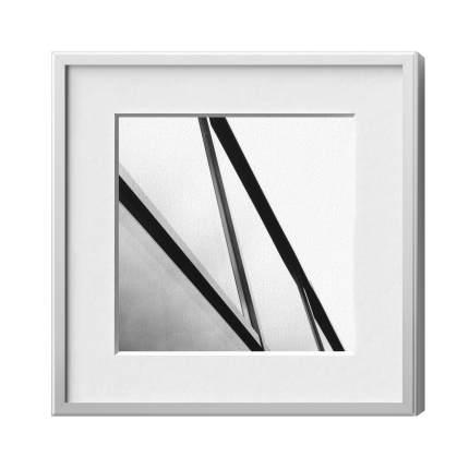 Classic-Magnetrahmen, Alu 12, Silber matt