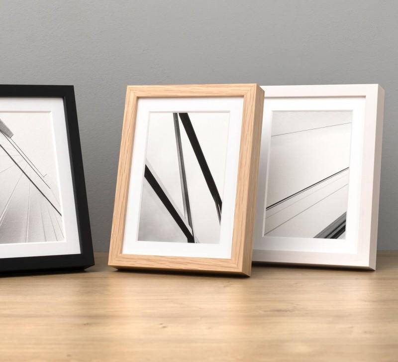 Fotorahmen Holz - Bilderrahmen für kleine Fotos