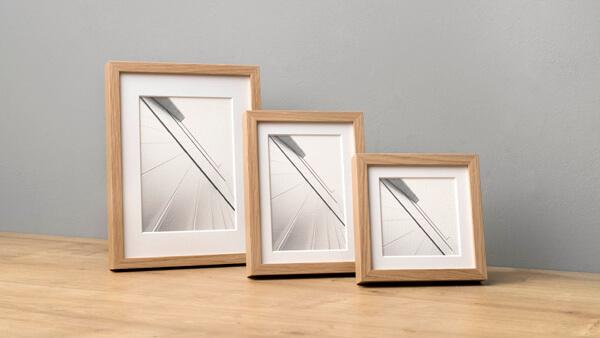 Bilderrahmen 13x18 aus Holz