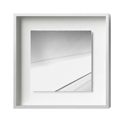 Distance magnetic frame, Alu 8, Silver matt