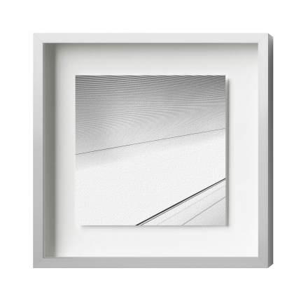 Distance-Magnetrahmen, Alu 14, Silber Matt