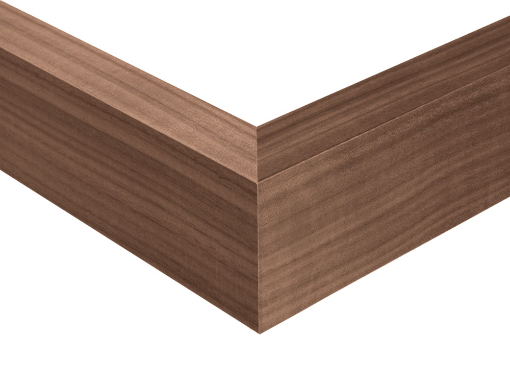 Wood walnut nature
