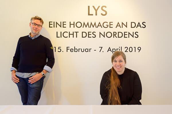 Ausstellung - LYS - Eine Hommage an das Licht des Nordens