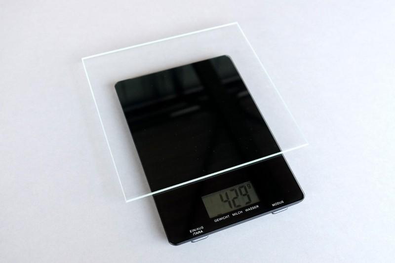 Mirogard Protect Bilderglas Gewicht