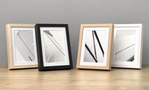 Fotorahmen Holz 10 in 4 Farben