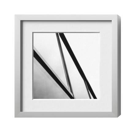 Classic-Magnetrahmen, Alu 18, Silber matt, Glas 1, 900 x 900