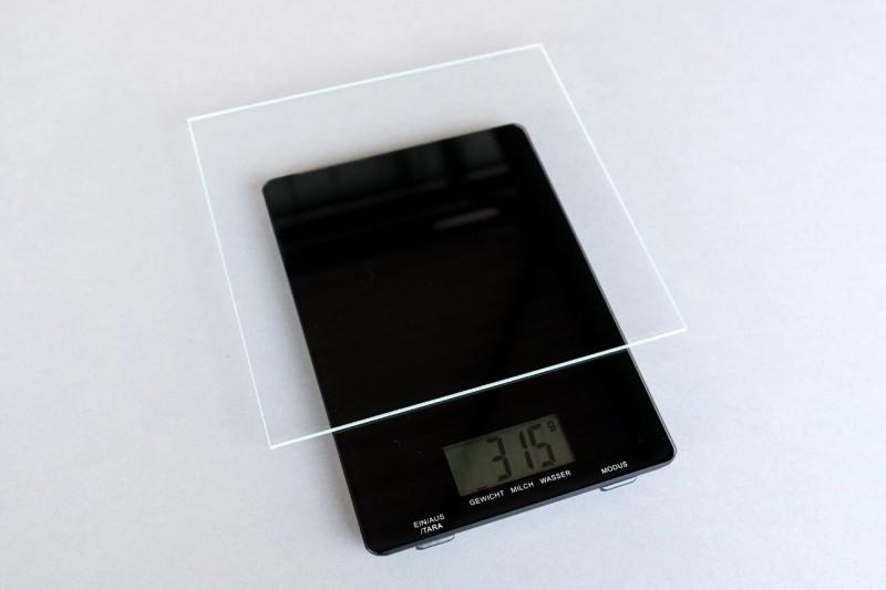 Mirogard Bilderglas Gewicht